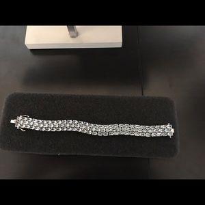 Jewelry - Sterling Silver Sky Blue Topaz 48CTW Bracelet